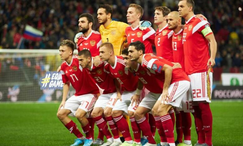 Fudbalska reprezentacija Rusije