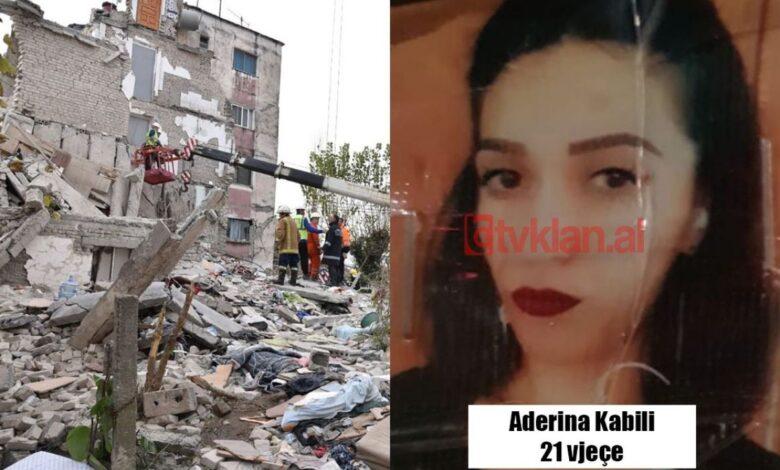 aderina kabili zrtva albanija potres zemljotres tvklanal