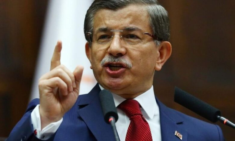 ahmet Davutoglu AFP