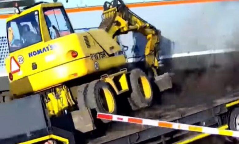 Saobracajna Nezgoda Saobracajna Nesreca Poljska Voz Kamion Foto RT