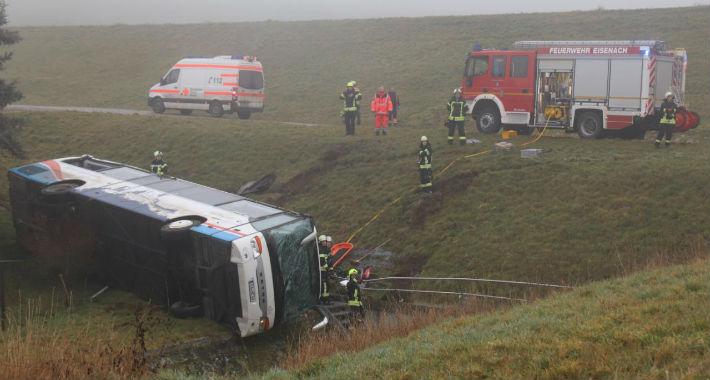 autobus nesreca u njemackoj