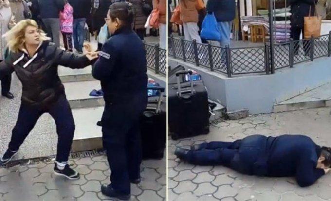 napad na policajku 0