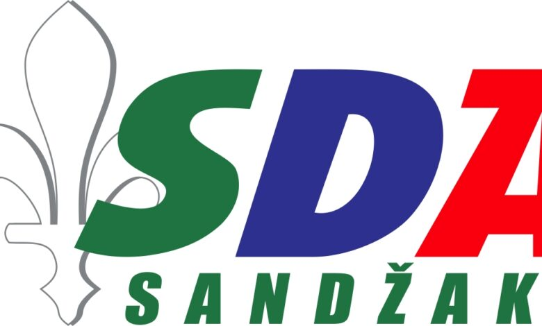 Znak Stranke SDA