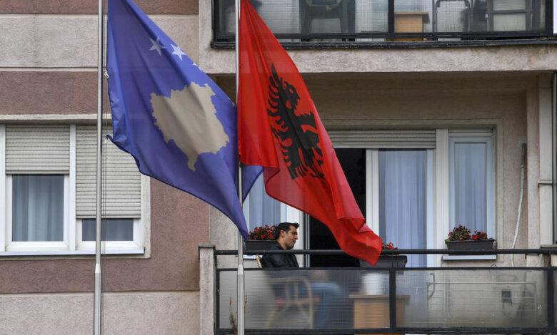 kosovo albanija zastava