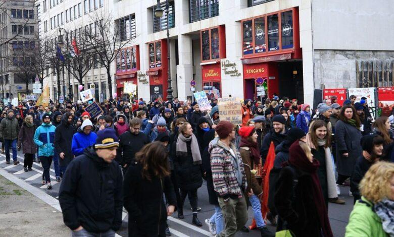 demonstracije njemacka AA