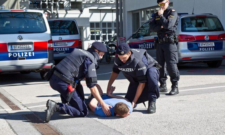 austrija policija hapsenje