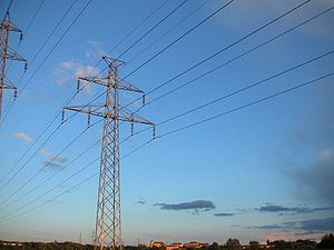 300px Electric transmission lines