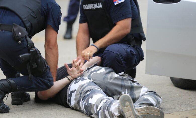 hapšenje ilustracija