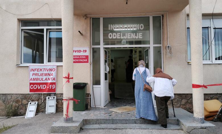 kovid ambulanta novi pazar bolnica korona
