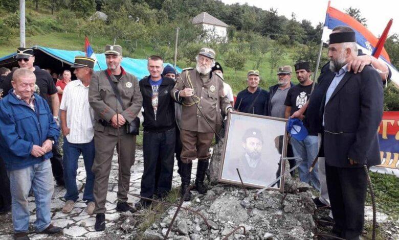 crna gora berane cetnici avgust2020 pobjeda