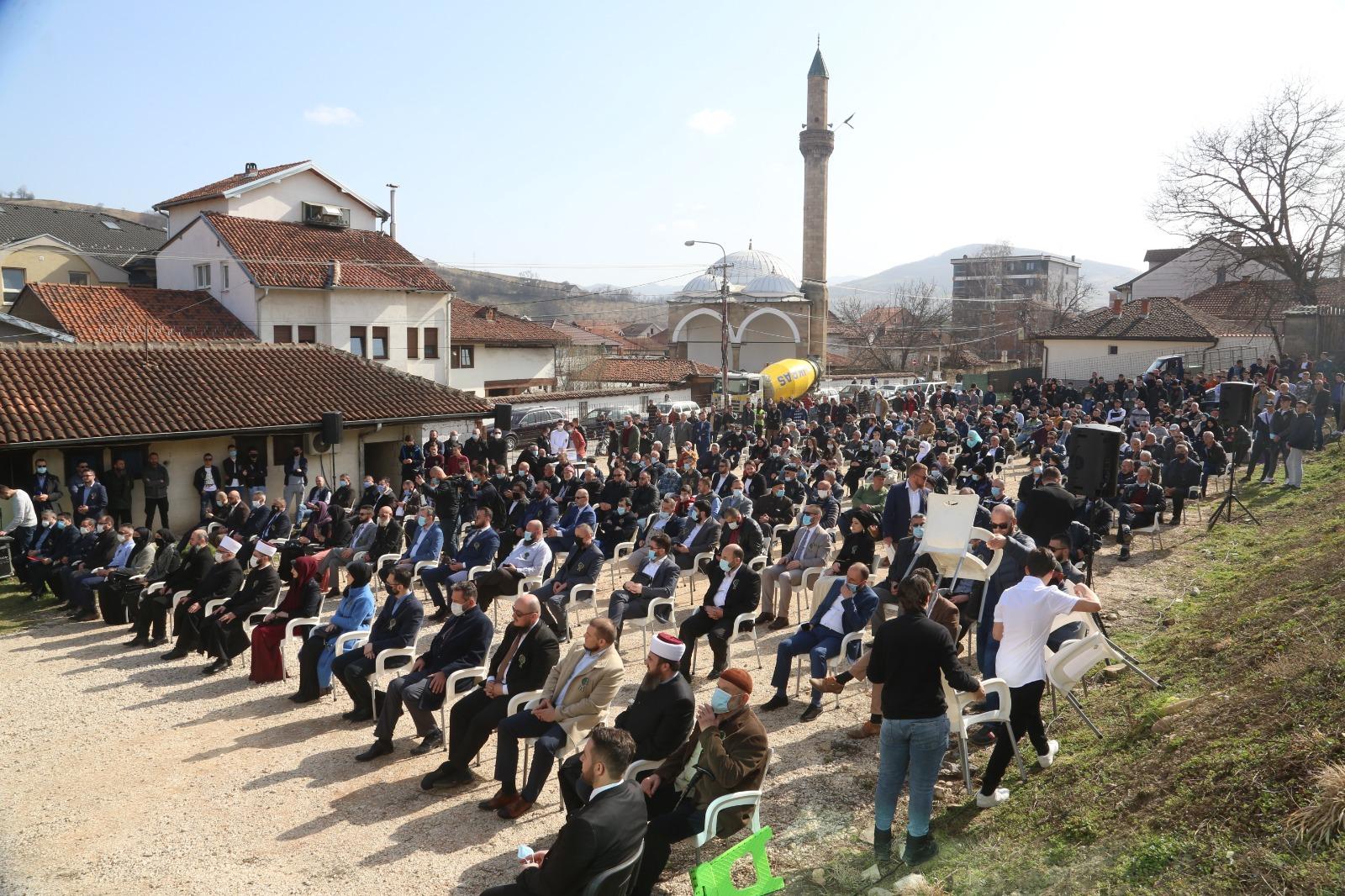 Novi Pazar – Položen kamen temeljac za novu zgradu Muške medrese