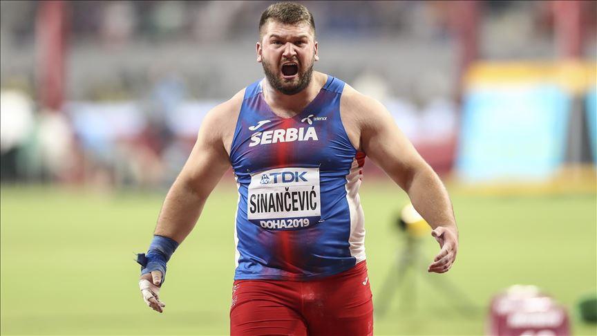 Armin Sinančević postavio novi rekord Srbije u bacanju kugle
