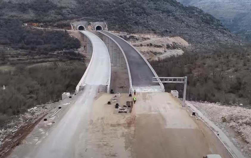 Novi video autoputa koji iz Crne Gore ide prema Sandžaku